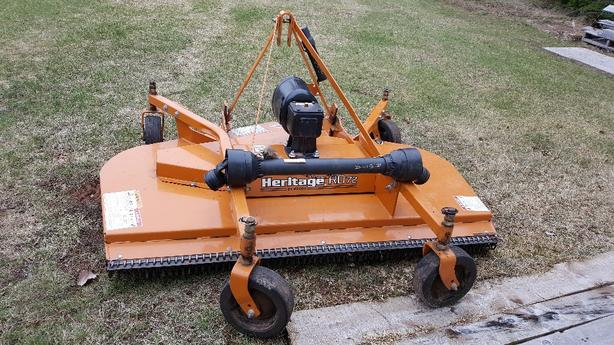 3 point hitch Woods finish mower
