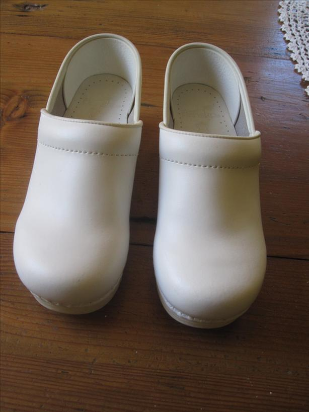 Professional white clog