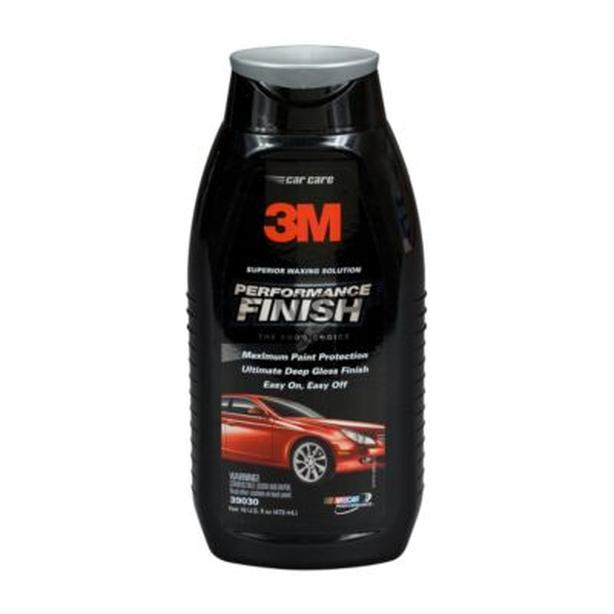 New Synthetic Wax Cleaner Polish 3M Performance Finish 16oz