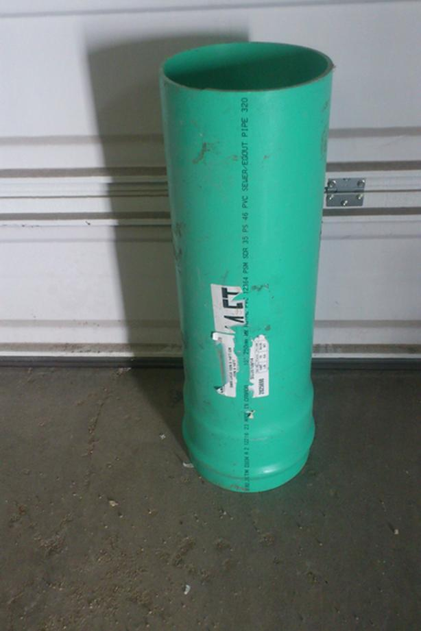 Pvc Sewer pipe  Different sizes and lengths (Drift Sleeves)