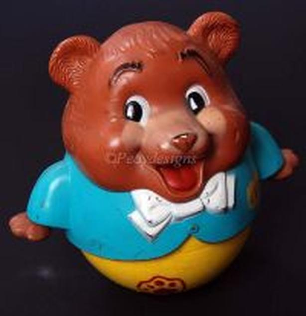 Fisher Price CHUBBY CUB Roly Poly Bear