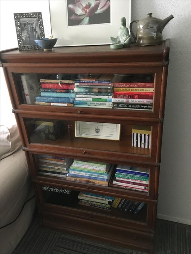 Barristers Antique Bookshelf For Sale