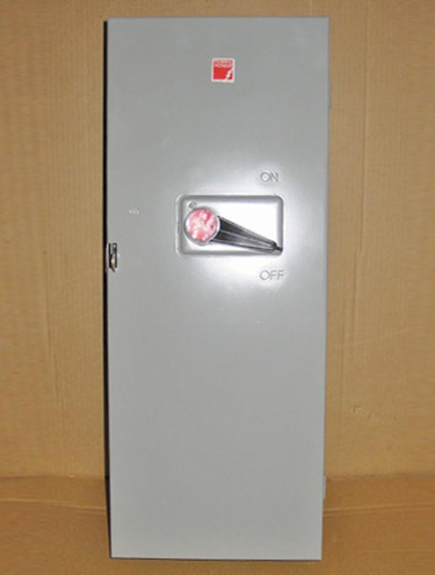 FPE 60 Amp, 3 Phase, 600 Vac Fused Disconnect Switch (#1636)