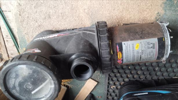 Electric Pump for rebuild or parts (jacuzzi 1 hp)