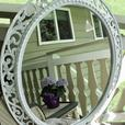 HUGE  Ornate Wall Mirror