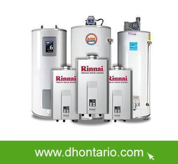 Hot Water Heater Free Rental Upgrade