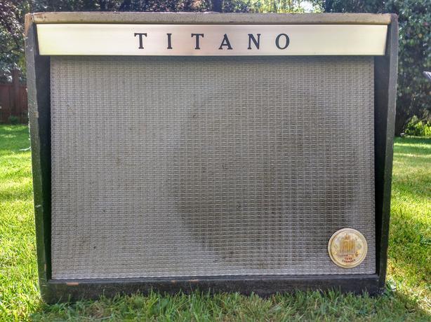 1961 63 Titano Custom 314 Re Branded Magnatone Custom 213413