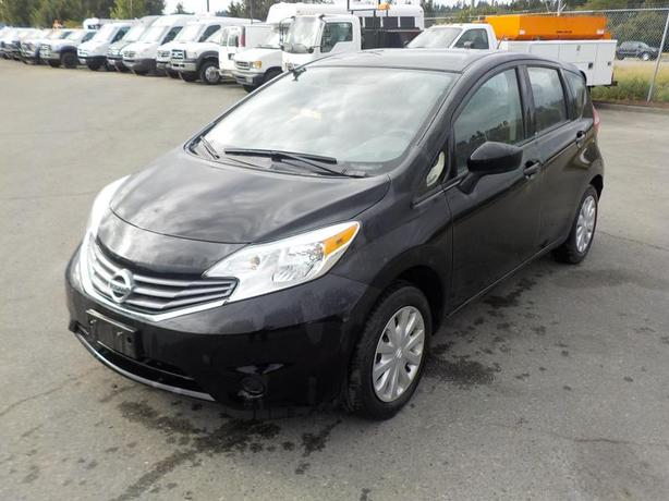 2015 Nissan Versa Note S Manual Hatchback