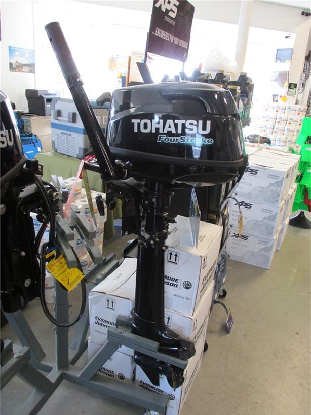 2017 Tohatsu MFS6CL-S -