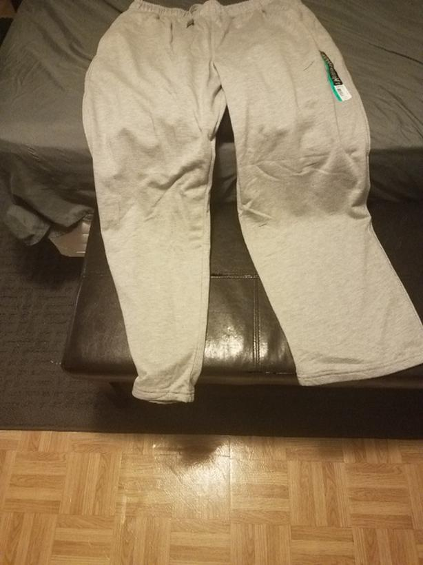 NEW GREY SWEATPANTS ♡ XL