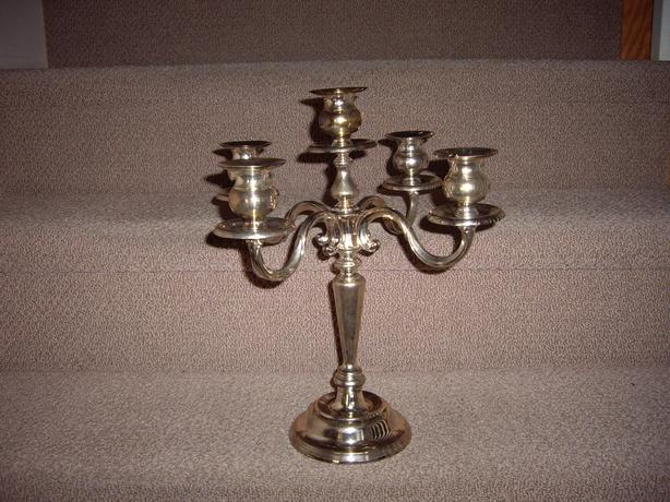 CANDELABRA SILVERPLATED