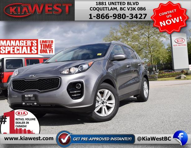 2018 Kia Sportage LX-MANAGER SPECIAL