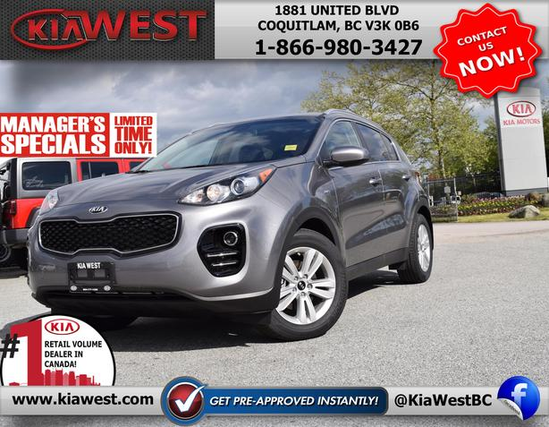2018 Kia Sportage LX -MANAGER SPECIAL