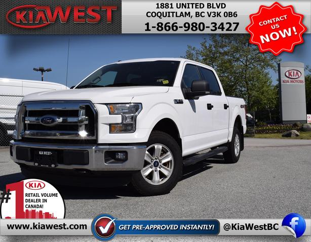2015 Ford F150 XLT SuperCrew Cab V8 4x4