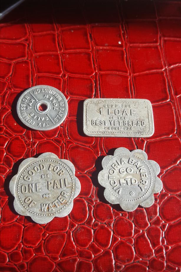 4 Aluminium tokens