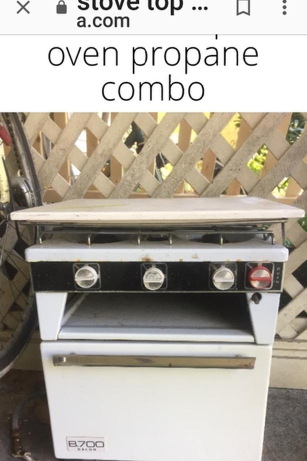 WANTED: rv propane stove/oven Central Saanich, Victoria