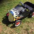 Hot Rod Pedal Car with horn