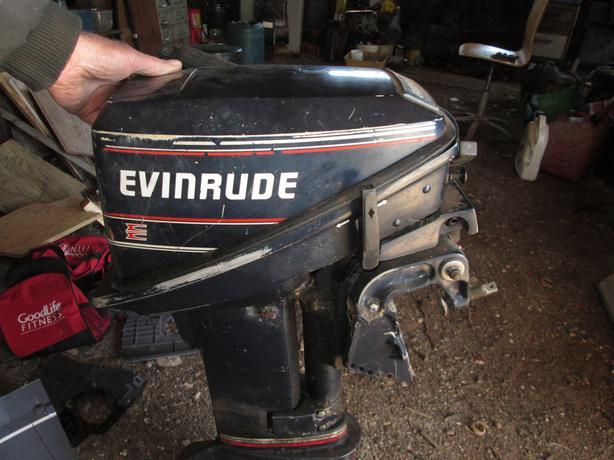 15 HP. Evinrude Outboard