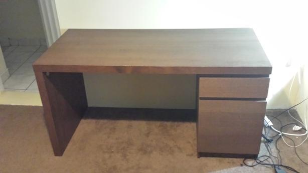 $50   Ikea MALM Desk