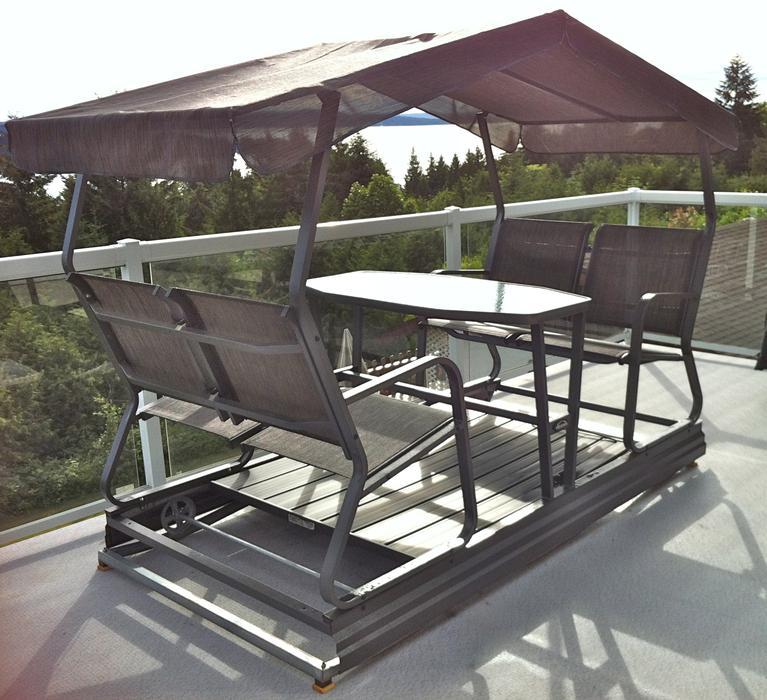 $400 · Veranda Outdoor Covered Glider Rocker