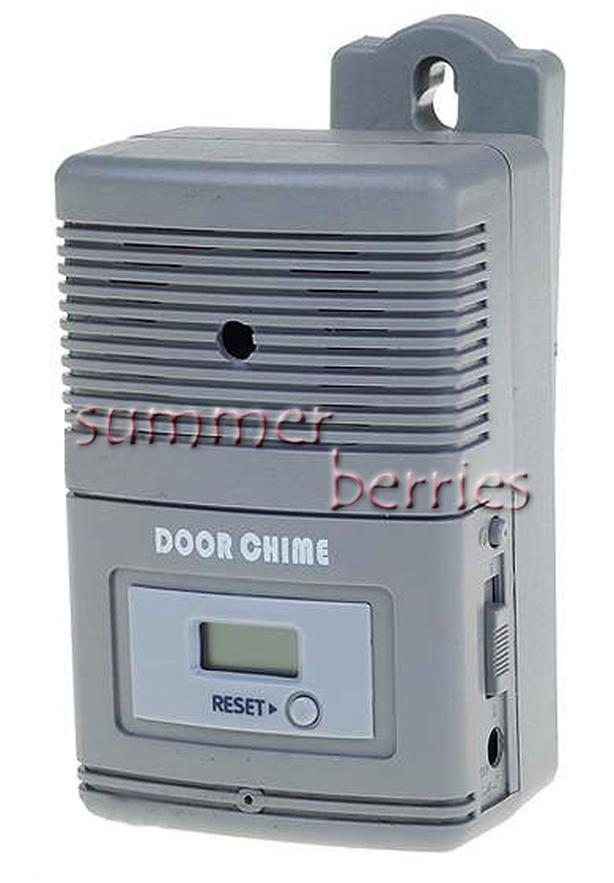 Wireless Entry Alert Door Chime - Grey