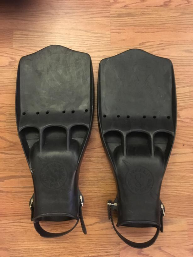 Scubapro Jetfin Extra Large rubber straps