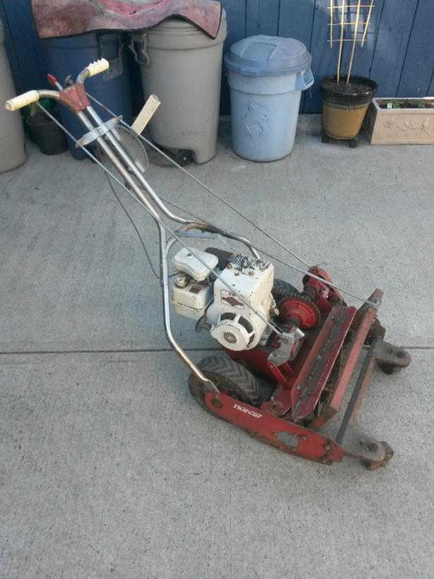 Tru Cut Lawnmower Victoria City Victoria
