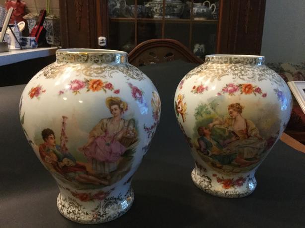 Antique German Vases North Saanich Sidney Victoria