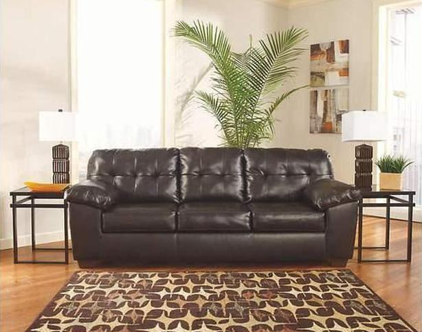 Queen size bonded leather sofa bed hide-a-bed