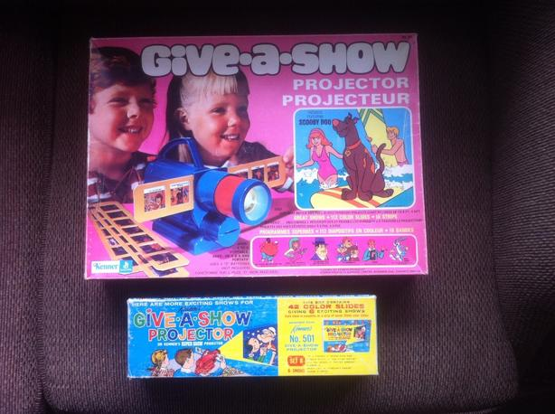 Vintage Give-A-Show Projector