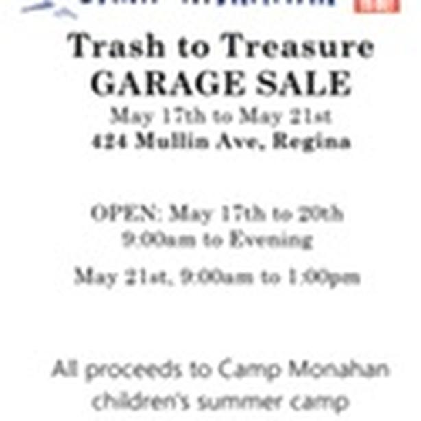 Huge Garage Sale.