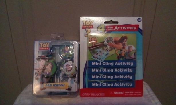 FREE Toy story LCD watch & toy story 3 mini activities
