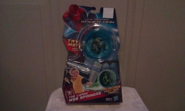 FREE Spiderman web spinners