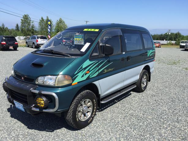 1996 Mitsubishi Delica, L400, Jasper Edition, High Roof, 2.8L 4CYL Turbo Diesel