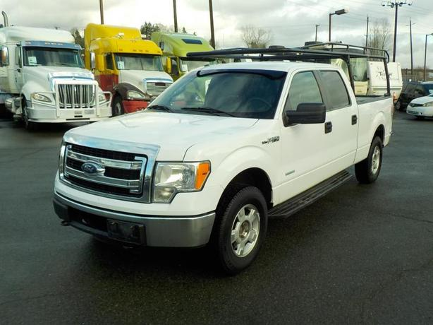 2013 Ford F-150 XLT SuperCrew 6.5-ft. Bed 4WD EcoBoost