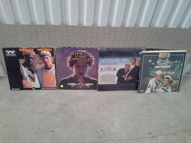 1980's Laser Disc Movies approximately ( 20 )