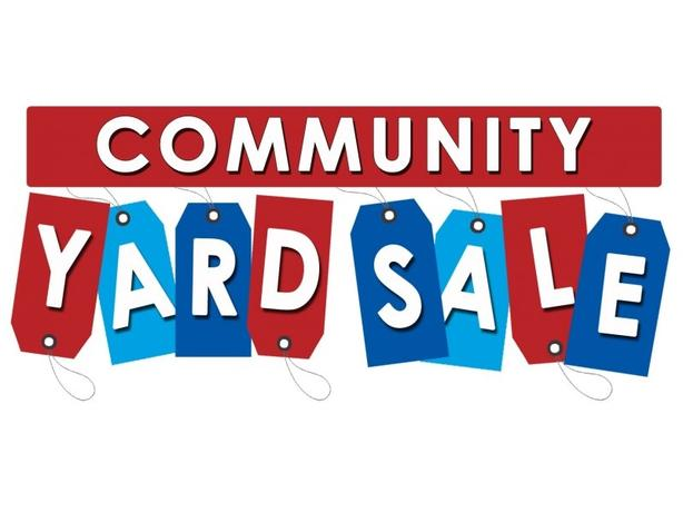 Community Yard Sale. Cornwall May 19