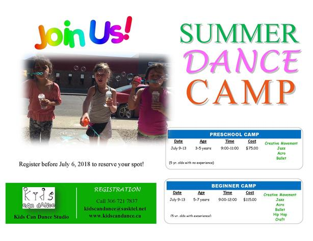 Beginner Dance Camp