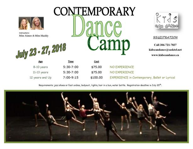Contemporary Dance Camp