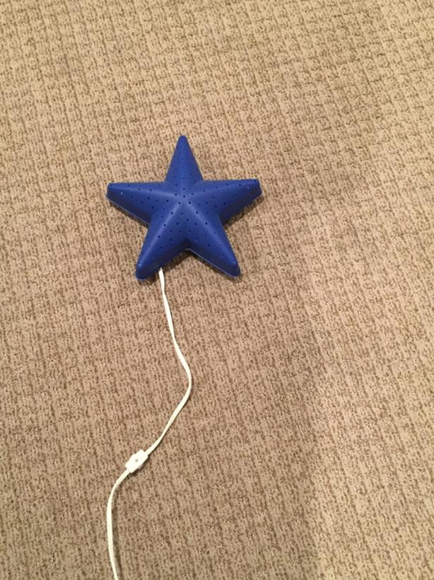Ikea star wall light