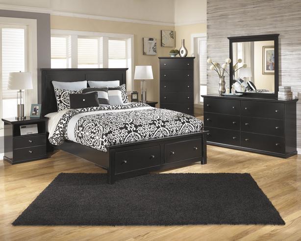 rent to own Maribel 6 piece bedroom suite