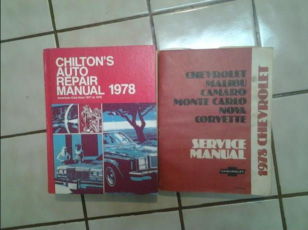 FREE: 1978 service manuals