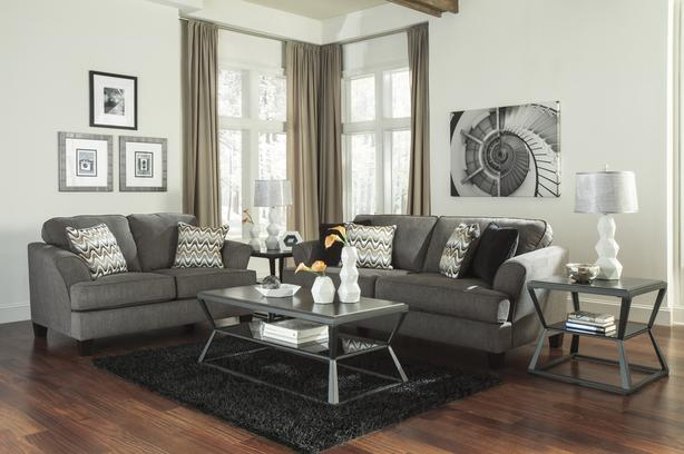 rent to own Gayler sofa and loveseat