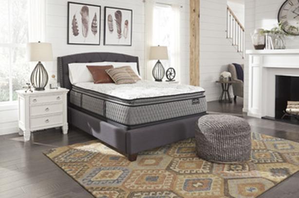 rent to own Mt Rogers Ltd Pillowtop mattress set