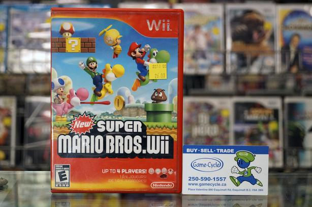 New Super Mario Bros Wii @ Game Cycle Esquimalt & View Royal