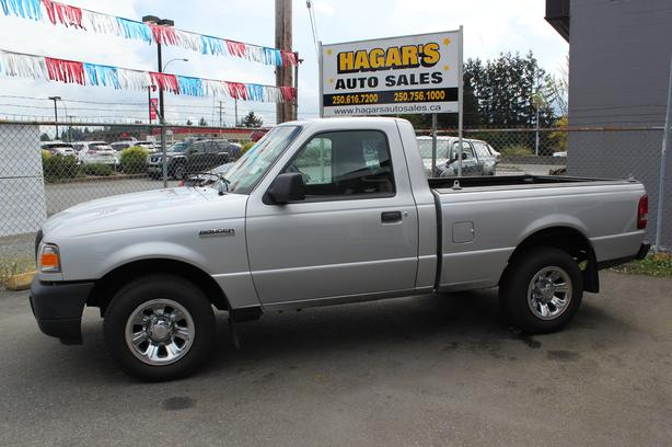SALE PRICED!! Was $7,995.00 2010 Ranger Regular Cab, 4Cyl. 5 Speed, RWD
