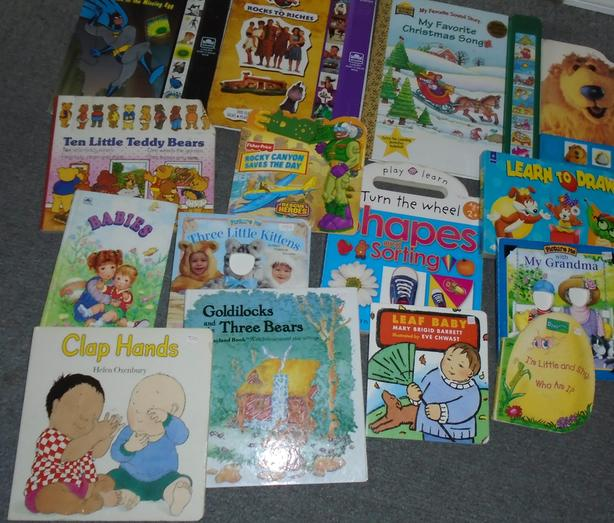 Lot of 15 Children's Hardcover Books