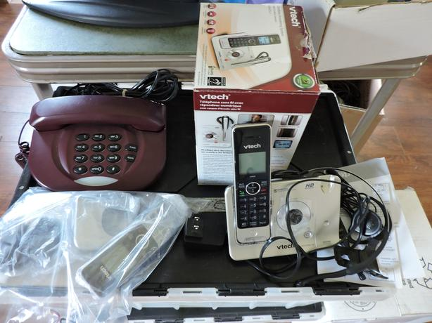 Four Landline Phones