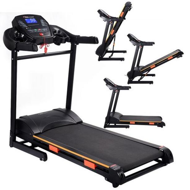 NEW 1000W FOLDING TREADMILL ELECTRIC MP3 PLAYER TREAD
