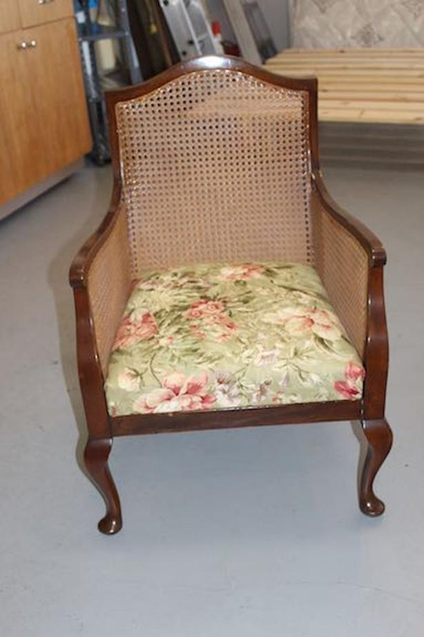 VINTAGE CANE CHAIR